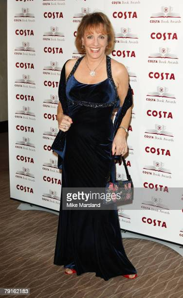Ester Ranston arrives at the 2007 Costa Book Awards at the The Intercontinental Hotel on January 22 2008 in London England