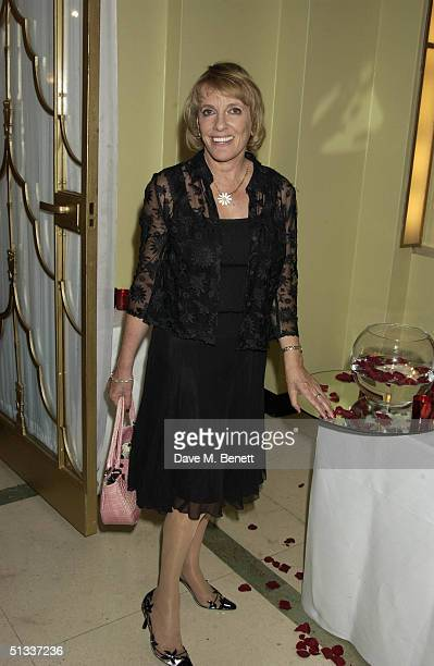 Ester Rantzen attends the Bruce Oldfield book launch party at The Ballroom Claridge's on September 22 2004 in London