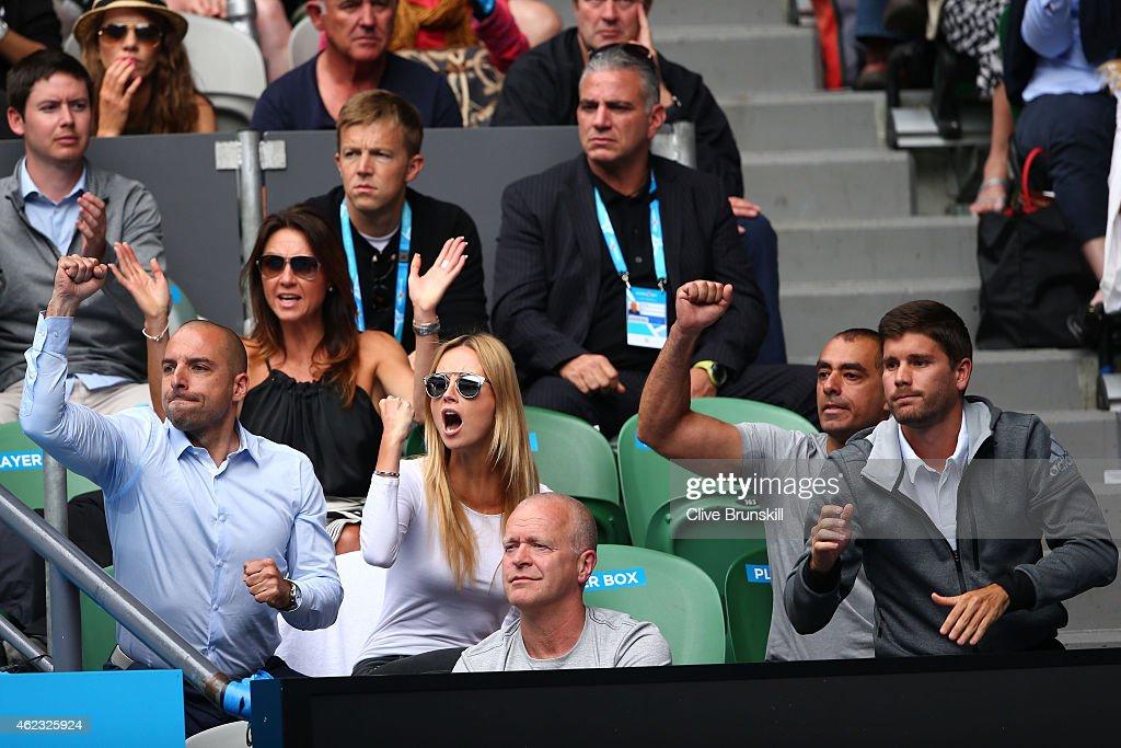 2015 Australian Open - Day 9 : Foto jornalística