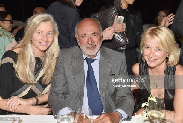 Ester Velo Gregory Callimanopulos and Janna Bullock attend Galerie Gmurzynska TEFAF NY dinner in honor of Christo honoring Alexandre de Betak on May...