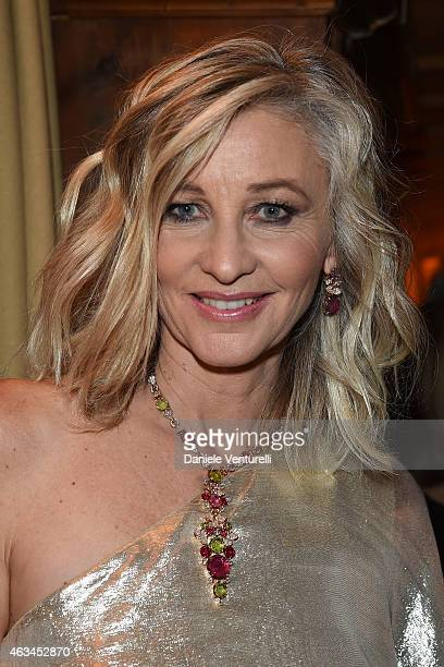 Ester Velo van Hulst attends Bulgari High Jewelry Event St Moritz on February 14 2015 in St Moritz Switzerland