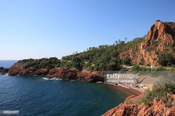 Esterel coast french riviera, France