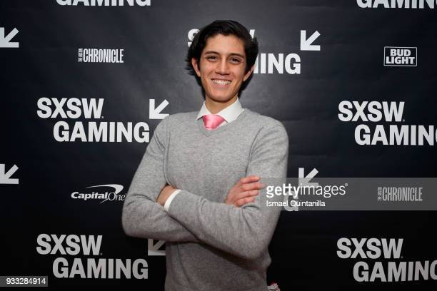 Estevan Aviles attends SXSW Gaming Awards during SXSW at Hilton Austin Downtown on March 17 2018 in Austin Texas
