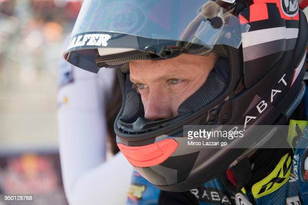 Esteve Rabat of Spain and Reale Avintia Racing prepares to start on the grid during the MotoGP race during the MotoGp Red Bull US Grand Prix of The...