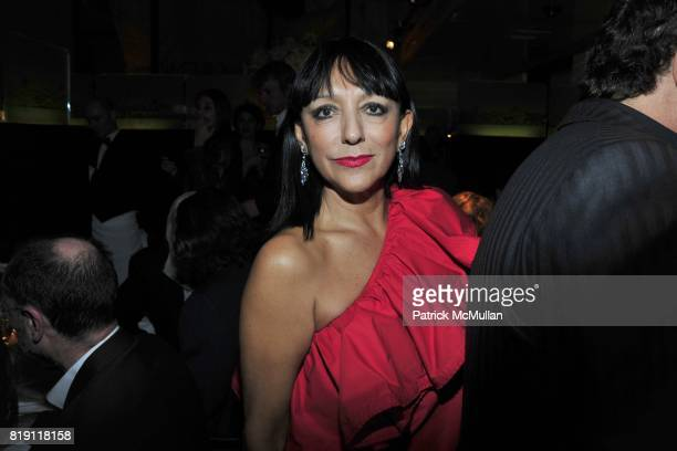 Esthella Provas attends LARRY GAGOSIAN hosts a Private Dinner for the ANDREAS GURSKY Opening Exhibition at GAGOSIAN GALLERY at Mr Chow on March 4...