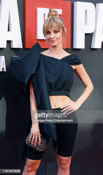 Esther Acebo attends 'La Casa de Papel' Season 3 Premiere at Callao Cinema on July 11 2019 in Madrid Spain