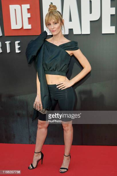 Esther Acebo attends the 'La Casa de Papel' 3rd season premiere at Callao Cinema in Madrid Spain on Jul 11 2019