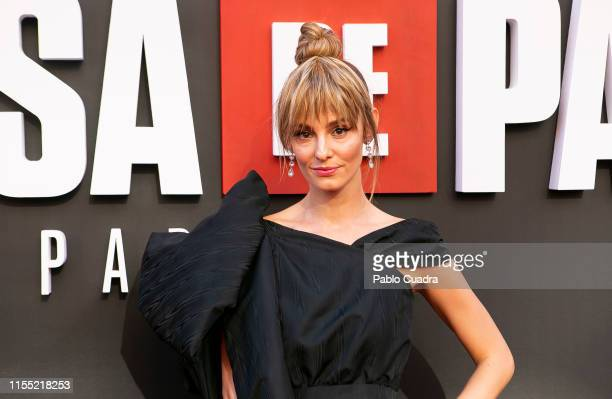 Esther Acebo attends the red carpet of 'La Casa De Papel' 3rd Season by Netflix on July 11 2019 in Madrid Spain