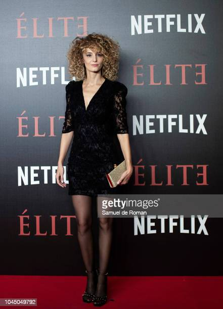 Esther Acebo attends the World Premiere of Netflixs 'Elite' at Nubel on October 2 2018 in Madrid Spai