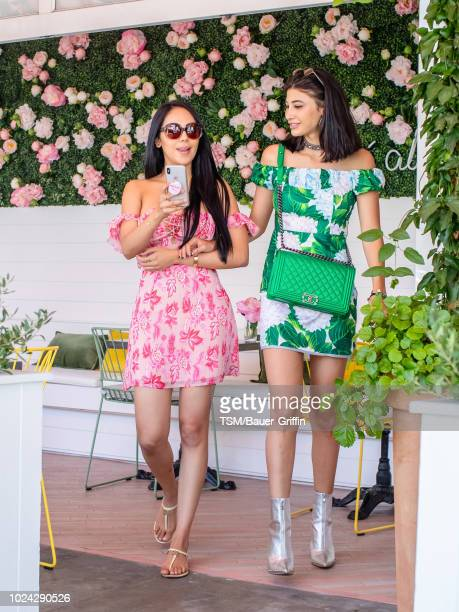 Esther Anaya and Abla Sofy are seen on August 26 2018 in Los Angeles California