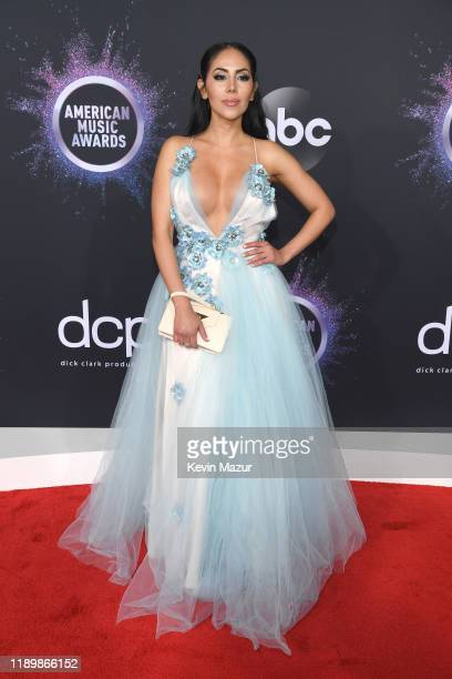 Esther Anaya attends the 2019 American Music Awards at Microsoft Theater on November 24 2019 in Los Angeles California