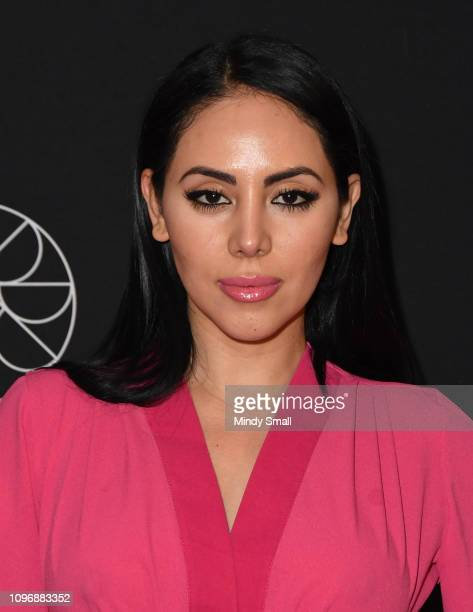 Esther Anaya attends the grand opening of On The Record Speakeasy and Club at Park MGM In Las Vegas on January 19 2019 in Las Vegas Nevada
