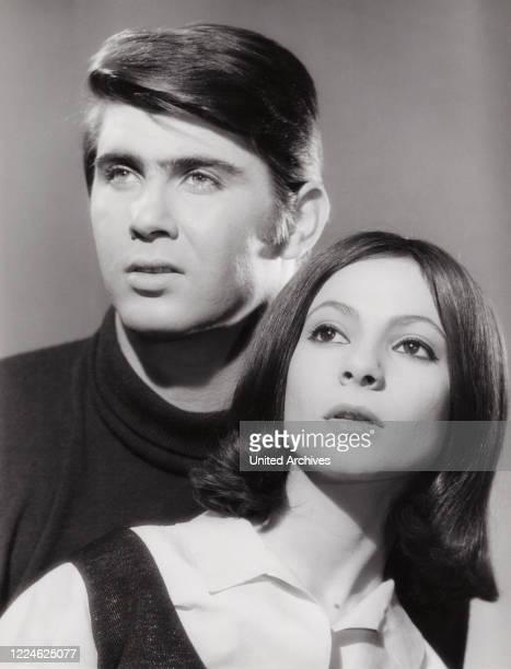 Esther and Abi Ofarim singing duo Germany circa 1968