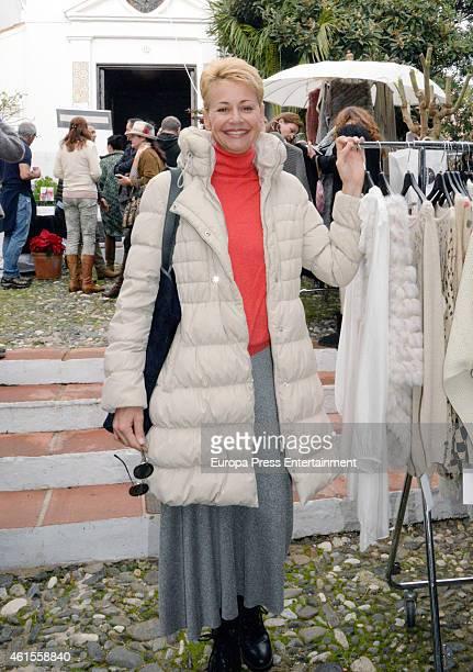 Esther Arroyo is seen on December 21 2014 in Marbella Spain