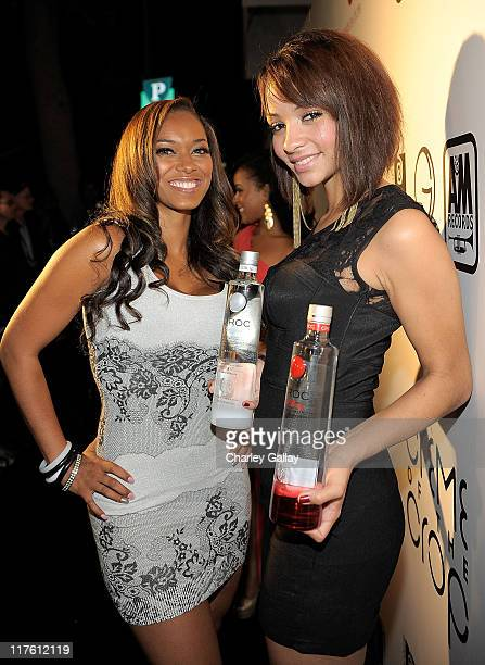 Esther Baxter arrives at the Ciroc Vodka BET After Party at Mr Chow on June 26 2011 in Beverly Hills California