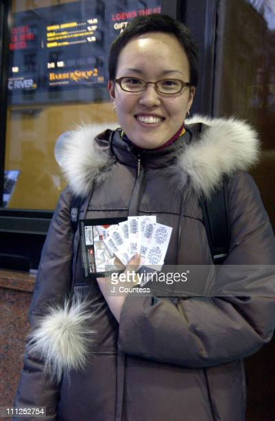 Esther Cabinte a Manhattan resident and member of the Presbyterian Church after having purchased several tickets for a screening of 'The Passion of...