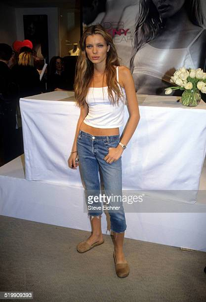 Esther Canadas at Bloomingdales New York New York February 11 1999