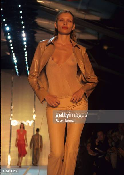 Esther Canadas during DKNY Fashion Show 1999 in New York City New York United States