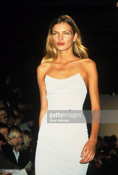 Esther Canadas during Donna Karan Fashion Show 1997 in New York City New York United States