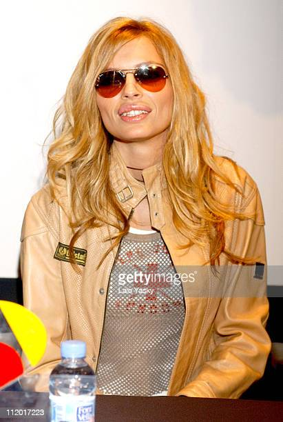 Esther Canadas during Esther Canadas Attends Trileros Press Conference in Madrid at The Columbia TriStar Building in Madrid Spain