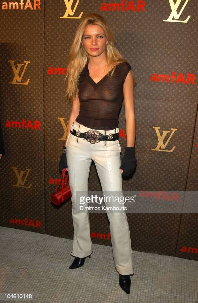 Esther Canadas during Louis Vuitton Celebrates the Debut of Tambour the New watch Line at Capitale in New York City New York United States