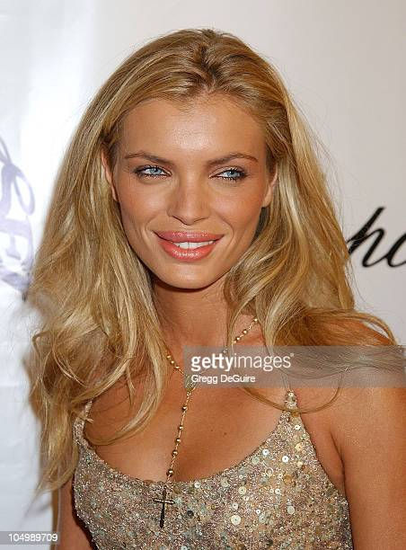 Esther Canadas during The 15th Carousel Of Hope Ball Arrivals at Beverly Hilton Hotel in Beverly Hills California United States