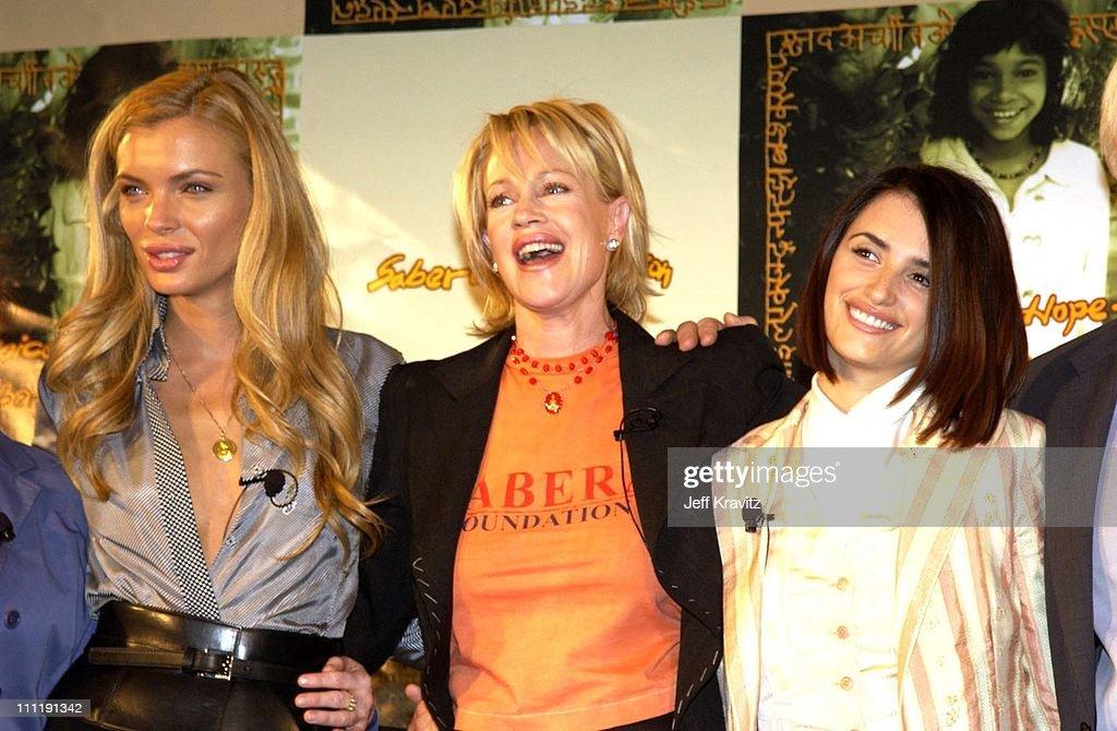 Esther Canadas, Melanie Griffith and Penelope Cruz