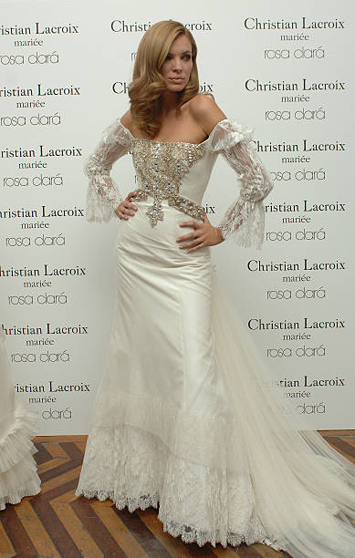 Esther Canadas Presents Cristian Lacroix New Collection in Madrid ...