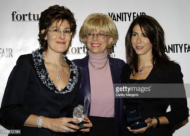Esther Fortunoff Lesley Stahl and Ruth Fortunoff during Vanity Fair and Fortunoff Host Women in the Know Awards Honoring Petra Nemcova Lesley Stahl...