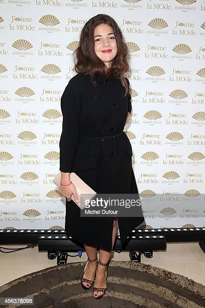 Esther Garrel attends 'J'aime La Mode 2014' party in Mandarin Oriental as part of the Paris Fashion Week Womenswear Spring/Summer 2015 on September...