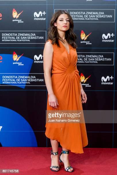 Esther Garrel attends 'Submergence' premiere during 65th San Sebastian Film Festival on September 22 2017 in San Sebastian Spain