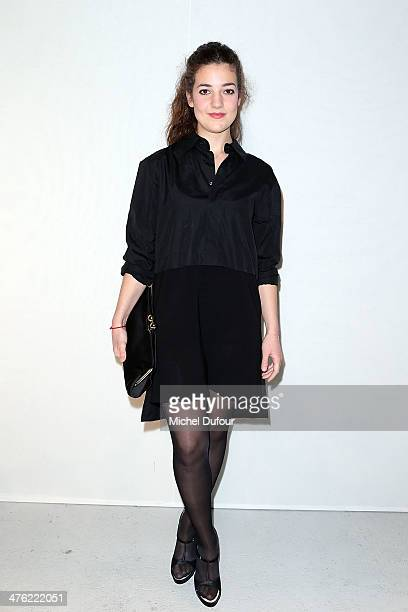 Esther Garrel attends the John Galliano show as part of the Paris Fashion Week Womenswear Fall/Winter 20142015 on March 2 2014 in Paris France