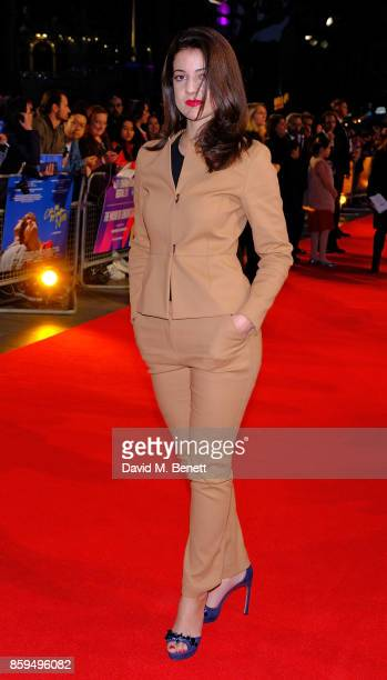 Esther Garrel attends the Mayor Of London Gala UK Premiere of 'Call Me By Your Name' during the 61st BFI London Film Festival on October 9 2017 in...
