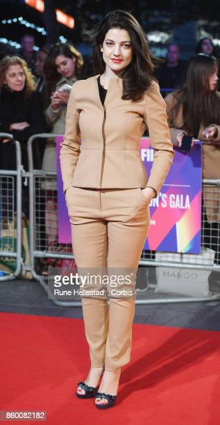 Esther Garrel attends the Mayor Of London Gala UK Premiere of 'Call Me By Your Name' during the 61st BFI London Film Festival on October 09 2017 in...