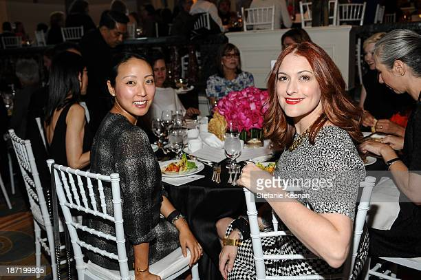 Esther Kim Varet and Cory Lynn Calter attend 8th MOCA Award To Distinguished Women In The Arts Honoring Lita Albuquerque Helen Pashgian Nancy Rubins...