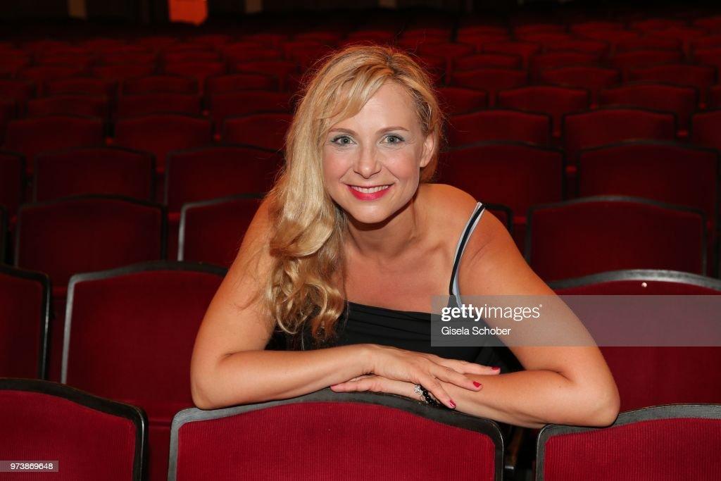 Esther Kuhn during the 'Mirandolina' premiere at Komoedie Bayerischer Hof on June 13, 2018 in Munich, Germany.