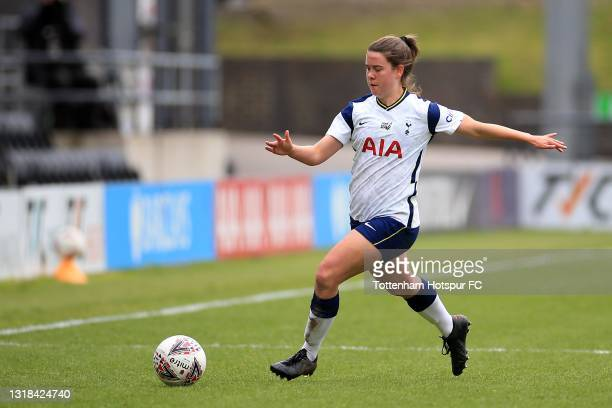 Esther Morgan of Tottenham Hotspur during the Vitality Women's FA Cup 5th Round match between Tottenham Hotspur Women and Sheffield United Women at...