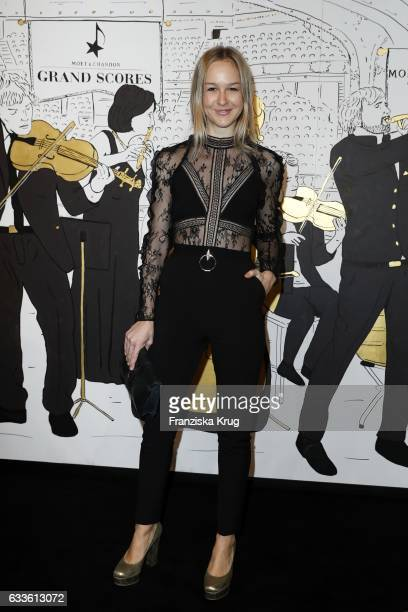 Esther Nikolai Seibt attends Moet Chandon Grand Scores 2017 at Umspannwerk on February 2 2017 in Berlin Germany