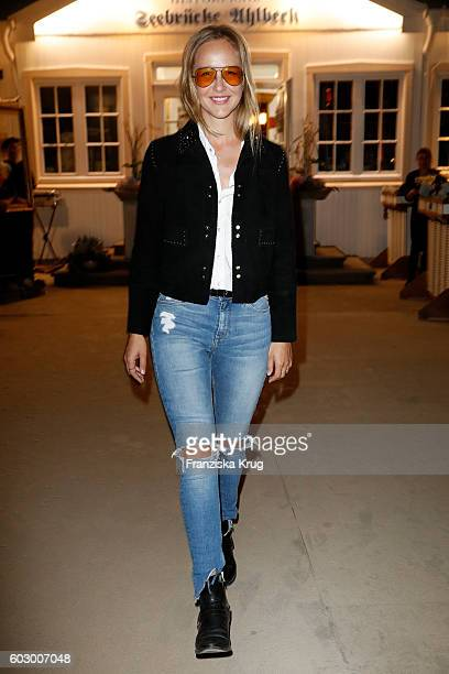 Esther Nikolai Seibt attends the Till Demtroders CharityEvent 'Usedom Cross Country' on September 10 2016 near Heringsdorf in Usedom Germany