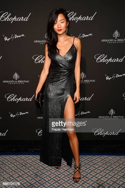 Esther Park attends Creatures Of The Night LateNight Soiree Hosted By Chopard And Champagne Armand De Brignac at The Setai Miami Beach on December 5...