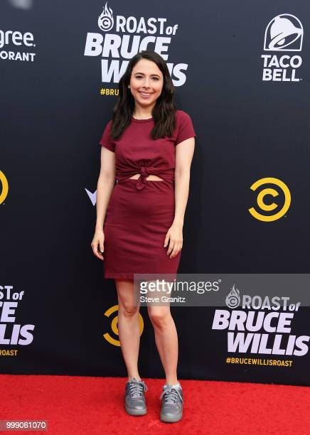 Esther Povitsky attends the Comedy Central Roast of Bruce Willis at Hollywood Palladium on July 14 2018 in Los Angeles California