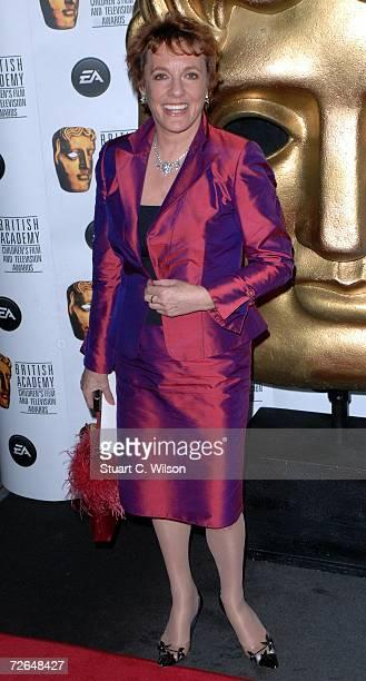 Esther Rantzen arrives for the British Academy Children's Film Television Awards 2006 at the Hilton Park Lane on November 26 2006 in London England