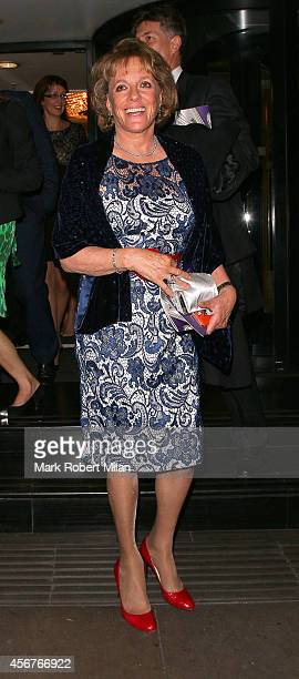 Esther Rantzen attend the Pride of Britain awards at The Grosvenor House Hotel on October 6 2014 in London England
