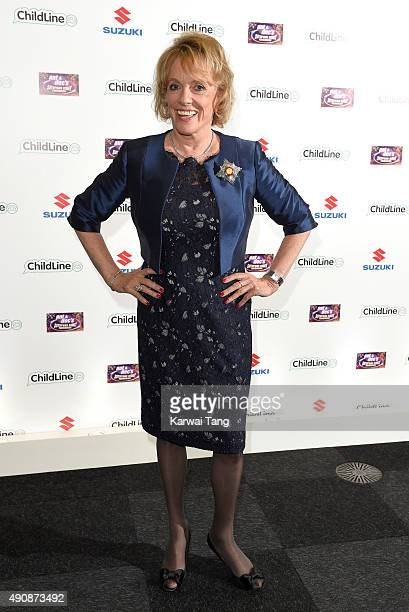 Esther Rantzen attends the Ant Dec's Saturday Night Takeaway Childline Ball at Old Billingsgate Market on October 1 2015 in London England
