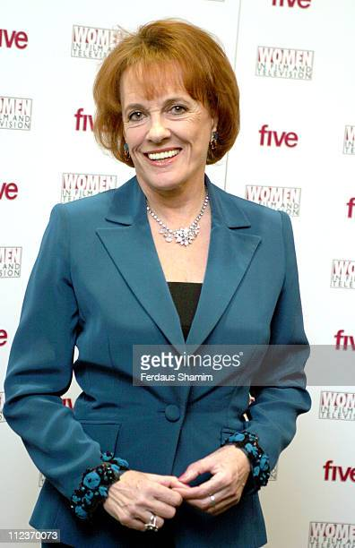 Esther Rantzen during 2005 Women in Film and Television Awards at Hilton Park Lane in London Great Britain