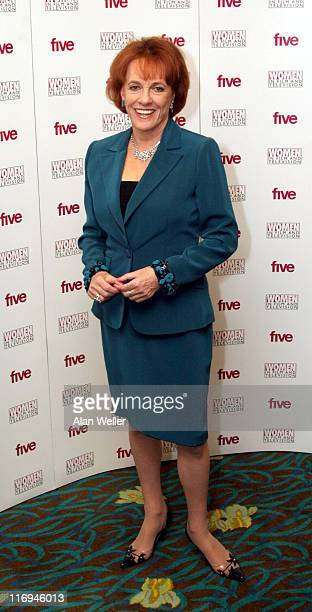 Esther Rantzen during 2005 Women in Film and Television Awards at London Hilton in London Great Britain