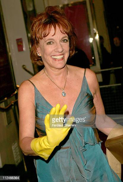 Esther Rantzen during 'Acorn Antiques' Press Night at Theatre Royal in London Great Britain