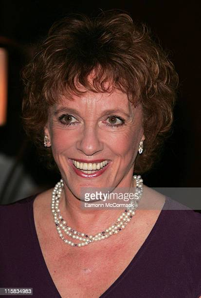 Esther Rantzen during Angela Rippon Hosts British Red Cross Fundraising – Arrivals at Intercontinental Hotel in London Great Britain