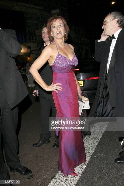 Esther Rantzen during BAFTA Film Awards 2005 After Party at Grosvenor House Hotel in London United Kingdom