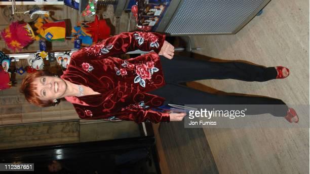 Esther Rantzen during 'Cirque du Soleil Alegria' Press Night Inside Arrivals at Royal Albert Hall in London Great Britain